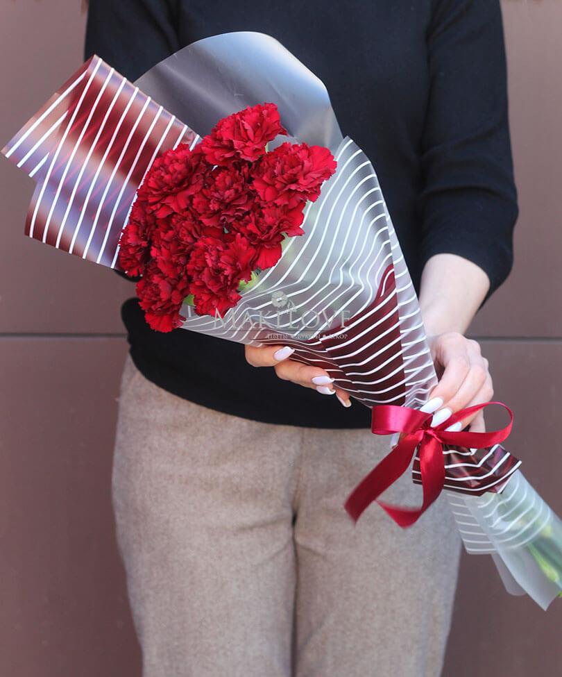 Букет тюльпанов «9 мая»