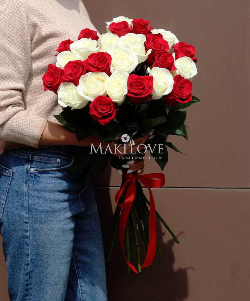 Букет из 25 роз «Premium»
