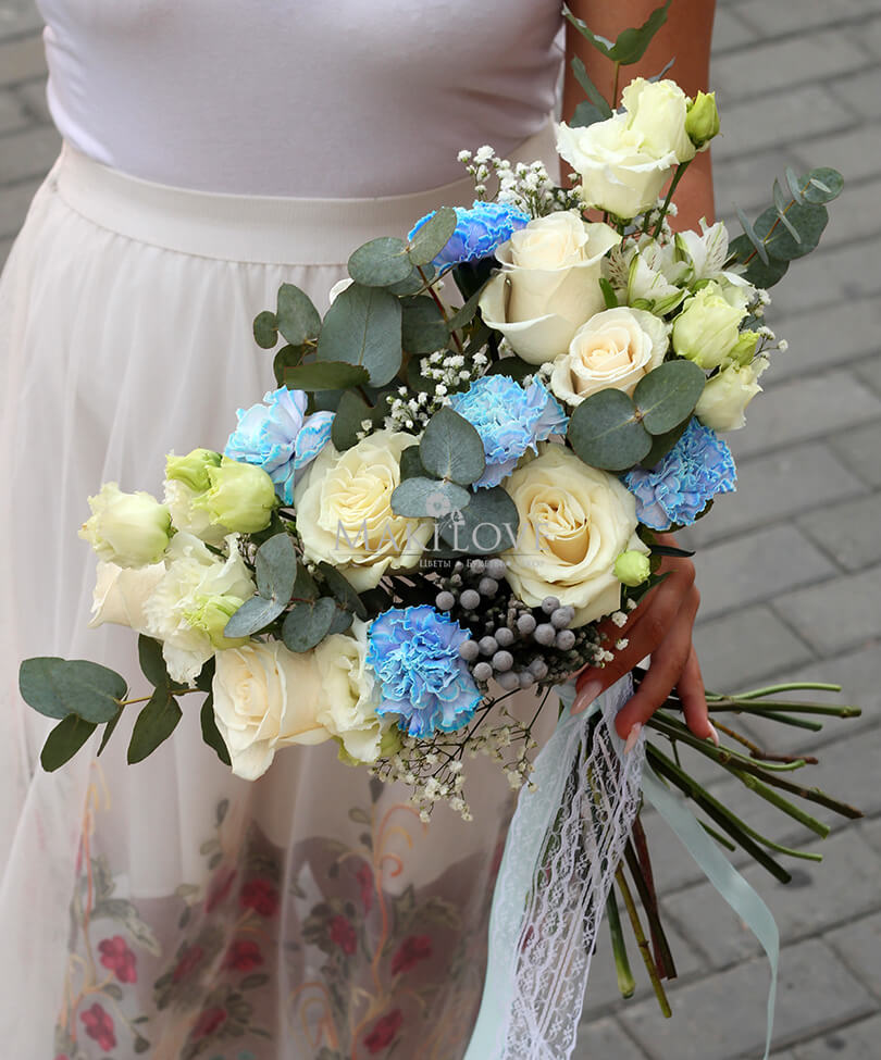 Свадебный букет невесты №49