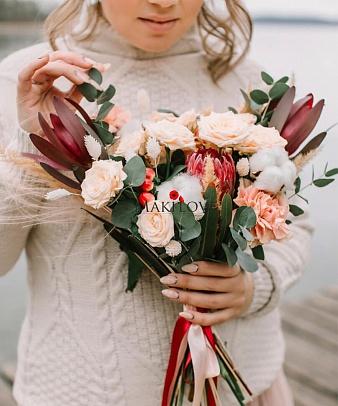 Свадебный букет невесты № 24