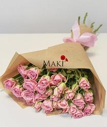 Букет из 5 кустовых роз