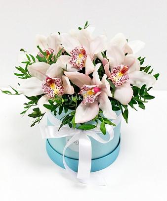 Венеция с белыми орхидеями