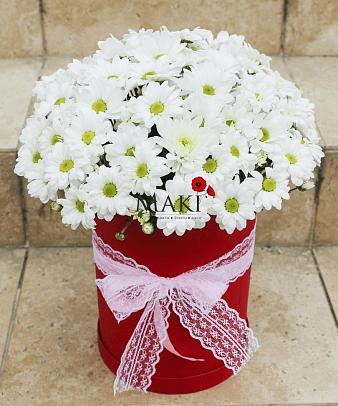 Букет хризантем «Аморе»