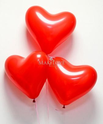 Шары Сердце 3 шт