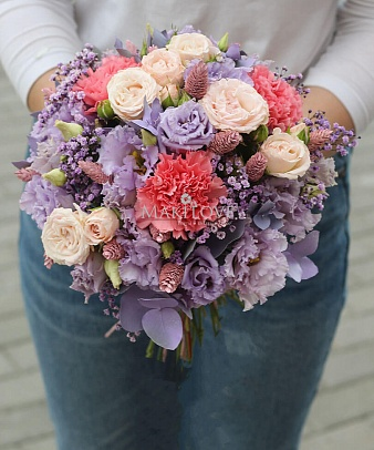 Свадебный букет невесты №47