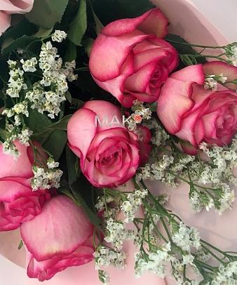 Букет «Розовый сон»
