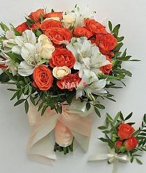 Свадебный букет невесты №15