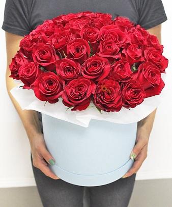Букет «Москва» с 35 красными розами