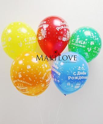 Воздушные шары «С Днем Рождения!»